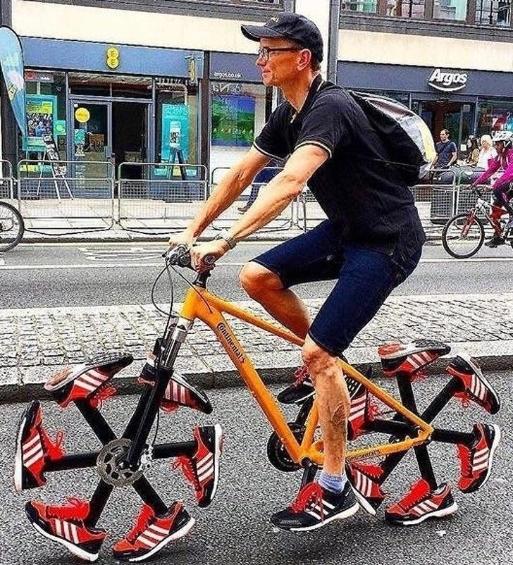 необычные колеса