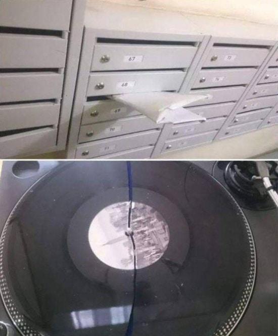 сломанная пластинка