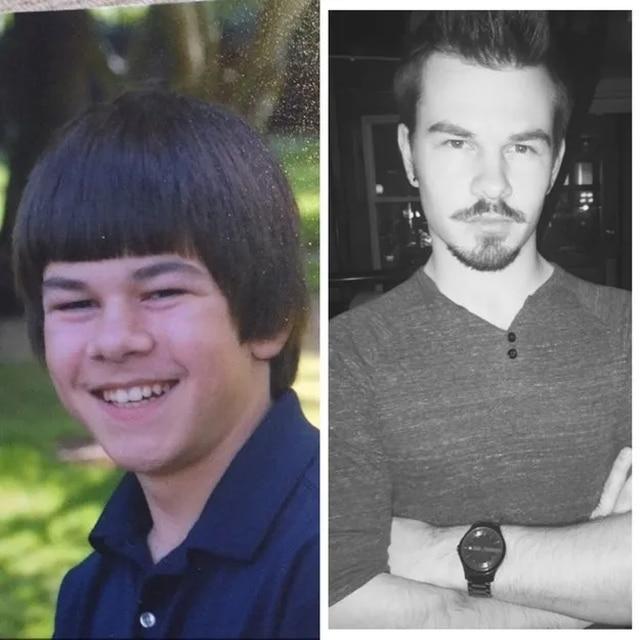 мужчина тогда и сейчас