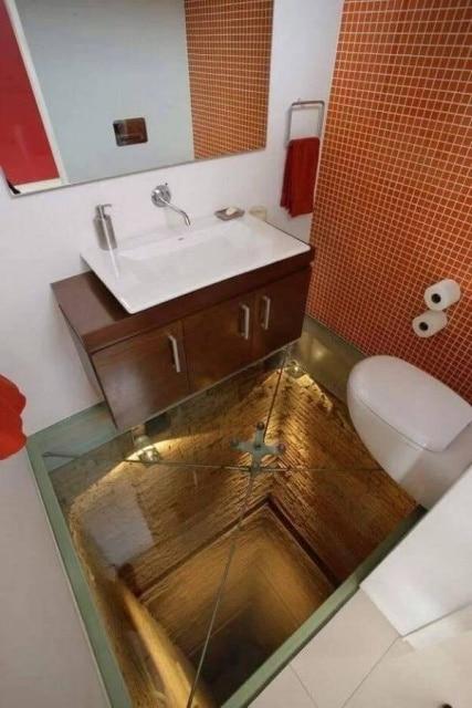 необычный туалеты