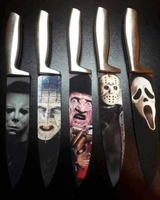 странные ножи