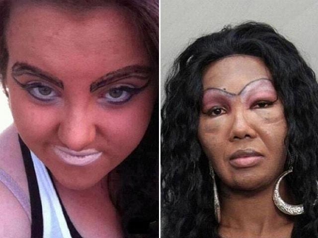 женщины с черными волосами