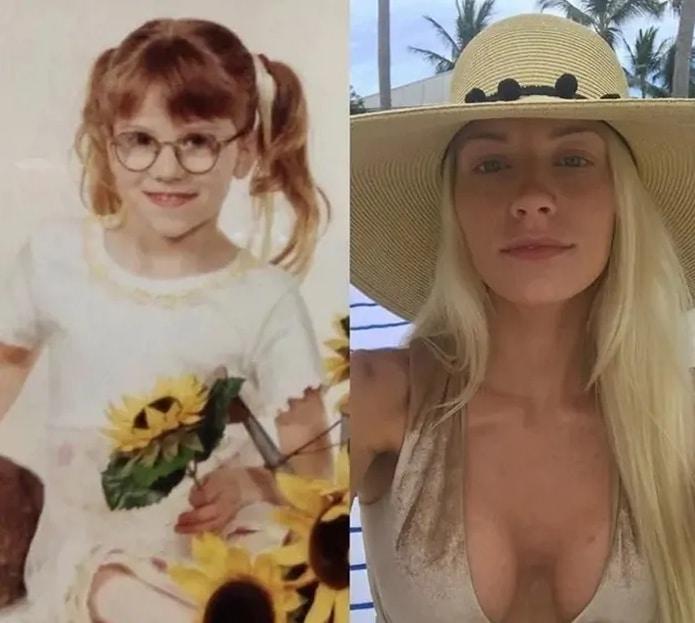 девочка в очках и девушка в шляпе
