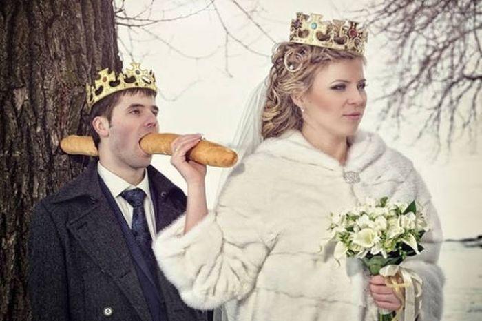 Свадьба по-русски: 15 свадебных фото от неугомонных фотошоперов Приколы,Фото,подборка фото,свадебные фото,свадьба,фото приколы,юмор