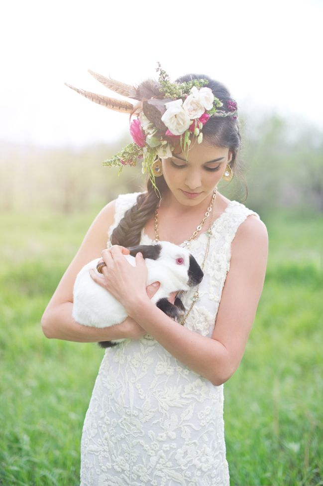 невеста и кролик